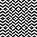 Geometric abstract retro seamless pattern background