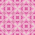 Geometric abstract seamless backgound pink texture Stock Image