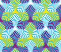 Geometric abstract seamless pattern motif background