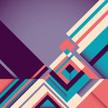 Geometric abstraction in color. Stock Image
