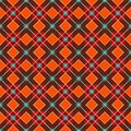 Geometric background made of squares, seamless, red-brown.