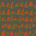 Geometric background in multicolors multicolor texture hand drawn seamless pattern with triangles use for wallpaper pattern fills Royalty Free Stock Photos