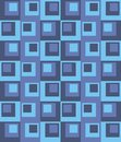 Geometric background rectangles and squares vector the patchwork or quilt Stock Images