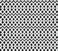 Geometric black and white seamless pattern nettin netting structure abstract contour background Stock Images