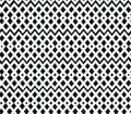 Geometric black and white seamless pattern. Nettin