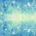 Geometric Blue Pattern. Vector...