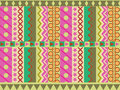 Geometric cheerful pattern abstract colorful board wallpaper background Royalty Free Stock Photography
