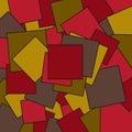 Geometric color quadrat background Royalty Free Stock Photo