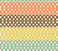 Geometric colorful seamless pattern netting struc structure abstract tiles background Stock Photography