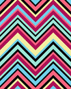 Geometric design a colorful with triangular geometry and bright colours Stock Image