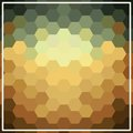 Geometric earth tone background Royalty Free Stock Photo