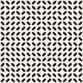 Geometric Ethnic Background with Symmetric Lines Lattice. Vector Abstract Seamless Pattern.