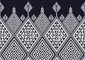 Geometric Ethnic pattern Royalty Free Stock Photo