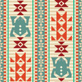 Geometric frogs pattern background with stylized ethnic style seamless Royalty Free Stock Photo