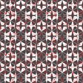 Geometric seamless repeat pattern. Vector illustration.
