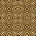 Geometric lines seamless pattern. Vector black and yellow stripes background