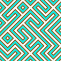 Geometric Maze Royalty Free Stock Images
