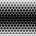 Geometric modern seamless background with triangle elements, vector illustration