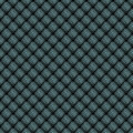 Geometric mosaic pattern from blue triangle texture, abstract vector background illustration