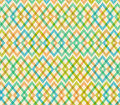Geometric multicolor seamless pattern netting structure abstract decorative background Stock Photography