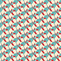 Geometric ornament abstract decorative print seamless pattern vector Stock Photos