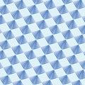 Geometric pattern background blue colour.