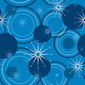 Geometric pattern of circles illustration seamless abstract decorative stars Royalty Free Stock Images