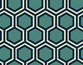 Geometric seamless pattern - honeycomb .