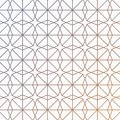 Geometric pattern of octagon lines. Vector illustration contained with Octagon, triangles, and lines with gradient changing
