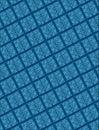 Geometric pattern raised tile Στοκ φωτογραφίες με δικαίωμα ελεύθερης χρήσης