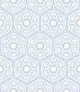 Geometric pattern similar to s and s design hexagon in white grey colors texture for web print wallpaper home decor spring summer Stock Image