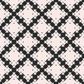 Geometric pattern with square figures, crosses.