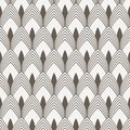 Geometric pattern vector. Geometric simple fashion fabric print. Vector repeating tile texture. Overlapping circles funky theme o