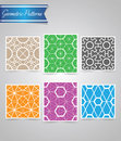 Geometric patterns modern for any use Stock Photography