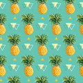 Geometric Pineapple Background