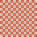 Geometric pixel pattern vinage seamless this is file of eps format Royalty Free Stock Photography