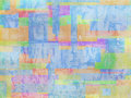 Geometric rainbow watercolor abstract grunge background Royalty Free Stock Photography