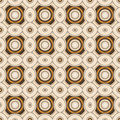 Geometric Retro Wallpaper Seamless Pattern Royalty Free Stock Photography