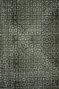 Geometric seamless abstract pattern black and white metallic colors on gray background. Modern black and white texture