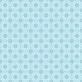 Geometric seamless background. Blue and white fabric