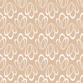 Geometric seamless background. Brown wallpaper