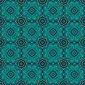 Geometric Seamless Pattern Royalty Free Stock Photo