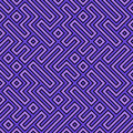 Geometric Seamless Pattern Royalty Free Stock Image
