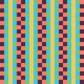 Geometric seamless pattern, abstract background. Checkered design, multicolored squares and the strip. For the  of Royalty Free Stock Photo