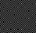 Geometric seamless pattern background. Simple graphic print. Vector repeating line texture. Modern swatch. Minimalistic shapes