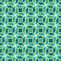 Geometric seamless pattern in blue Royalty Free Stock Photos