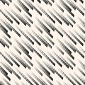 Geometric seamless pattern with diagonal fade lines, tracks, halftone stripes.