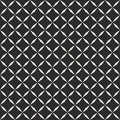 Geometric seamless pattern with diagonal square grid, octagonal stars shapes. Royalty Free Stock Photo