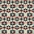 Geometric seamless repeat pattern. Vector illustration.