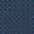 Geometric seamless pattern. Luxury Blue,white and orange design for prints, Royalty Free Stock Photo